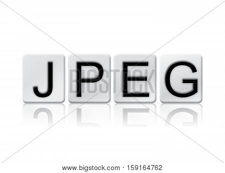 Jpeg Isolated Tiled Letters Concept And Theme