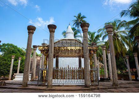 Buddhist temple Ambasthala Dagoba MIHINTALE SRI LANKA