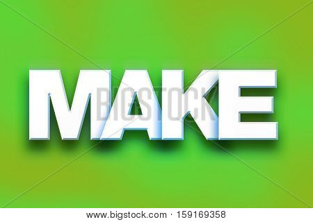 Make Concept Colorful Word Art