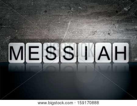 Messiah Tiled Letters Concept And Theme