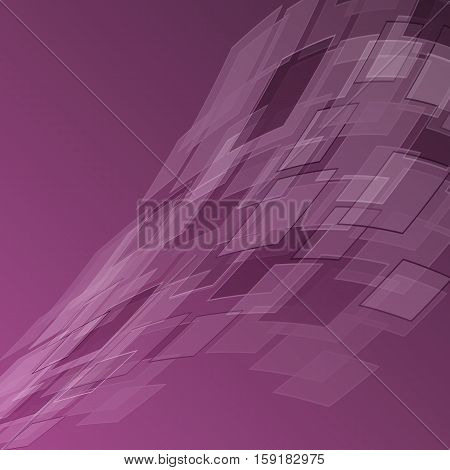 Abstract purple background with geometric, stock vector