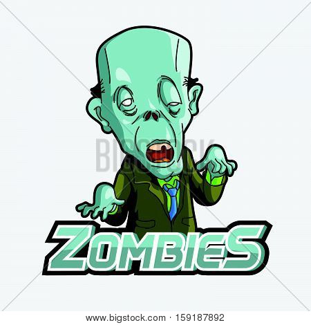 zombies vector illustration design eps 10 colorful