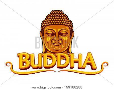 buddha banner vector illustration design eps 10
