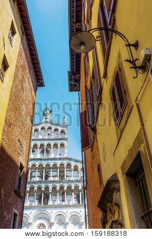 San Michele In Foro In Lucca, Italy
