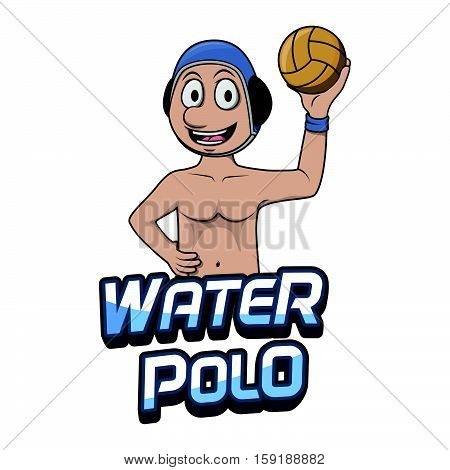 water polo logo water polo logo illustration design