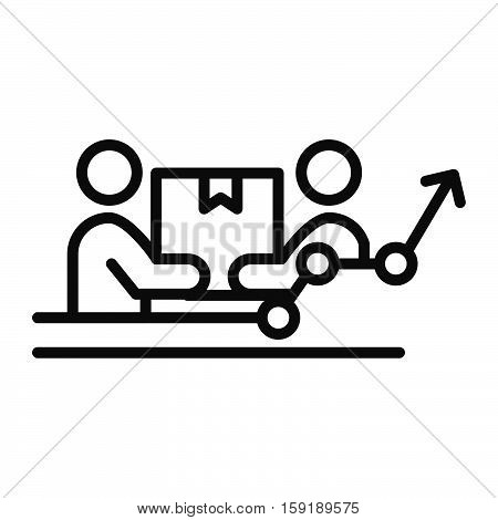 team effort vector illustration design eps 10
