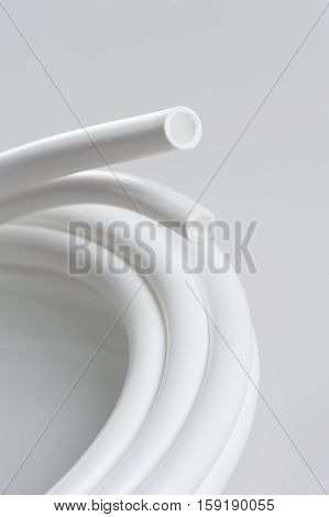 isolate white rubber tube for water purifier