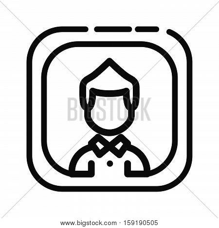 user profile vector illustration design eps 10