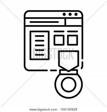 website rank vector illustration design eps 10