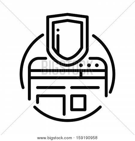 website security vector illustration design eps 10
