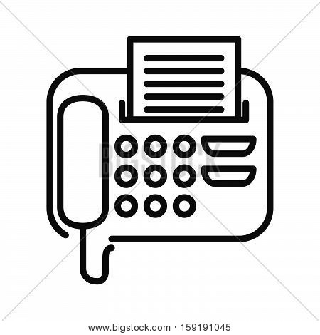 fax message vector illustration design eps 10