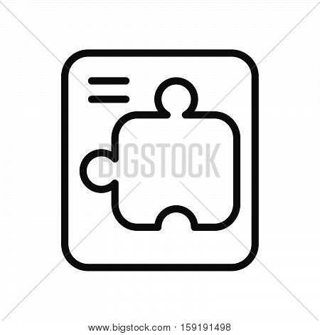 puzzle quest vector illustration design eps 10