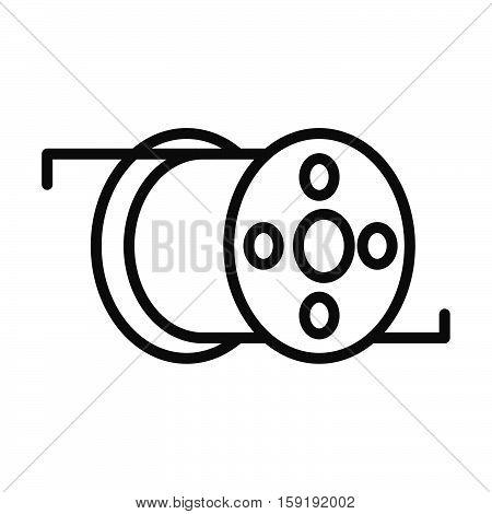 printing filament vector illustration design eps 10