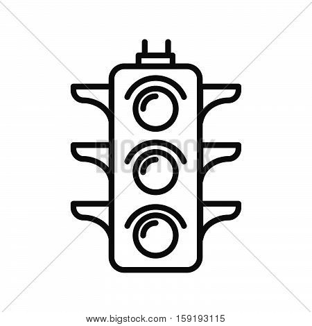 traffic light vector illustration design eps 10