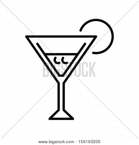 martini cocktail vector illustration design eps 10