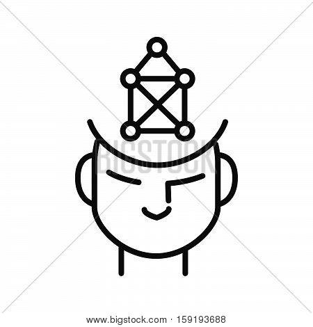 imagination form vector illustration design eps 10