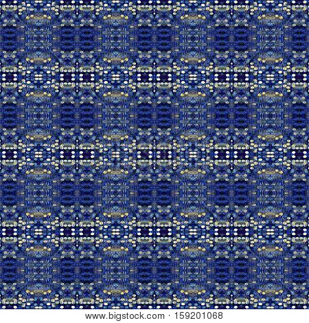 seamless pattern made from Abstract blue grunge texture can be used for background