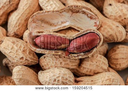 peanut,Roasted peanuts , hors d'oeuvres , snack ,salted groundnuts