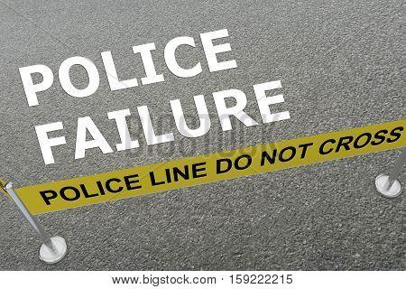 Police Failure Concept