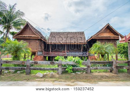 Thailand ancient houses in south thailand / ancient house