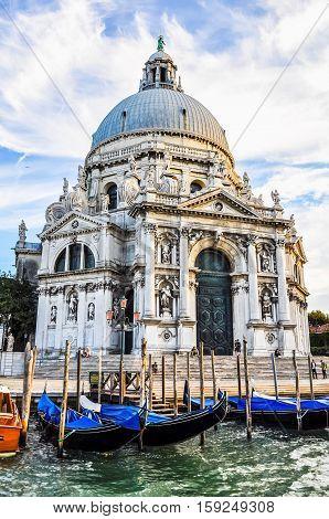 Hdr Santa Maria Della Salute Venice