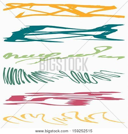 graffiti abstract color lines vector illustration abstract high quality