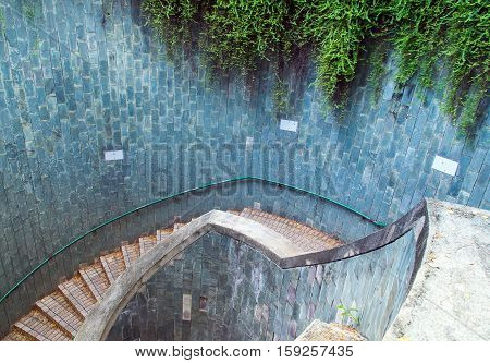 The Underground Crossing At Fort Canning Park