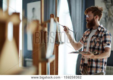 Learner of art-school