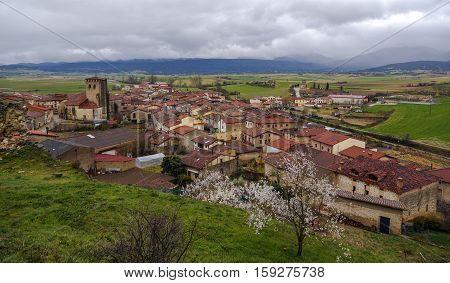 Santa Gadea del Cid Burgos Castilla Spain