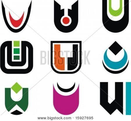 Alphabetical Logo Design Concepts. Letter U. Check my portfolio for more of this series.