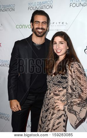 LOS ANGELES - NOV 30:  Nyle DiMarco, Shoshanna Stern at the Nyle DiMarco Foundation Love & Language Kickoff Campaign 2016 at Sofitel Hotel on November 30, 2016 in Beverly Hills, CA