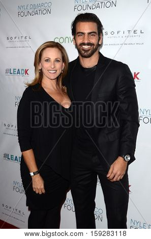 LOS ANGELES - NOV 30:  Marlee Matlin, Nyle DiMarco at the Nyle DiMarco Foundation Love & Language Kickoff Campaign 2016 at Sofitel Hotel on November 30, 2016 in Beverly Hills, CA