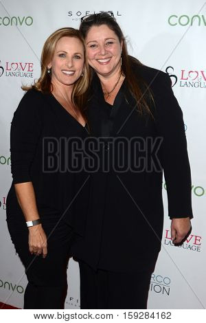 LOS ANGELES - NOV 30:  Marlee Matlin, Camryn Manheim at the Nyle DiMarco Foundation Love & Language Kickoff Campaign 2016 at Sofitel Hotel on November 30, 2016 in Beverly Hills, CA