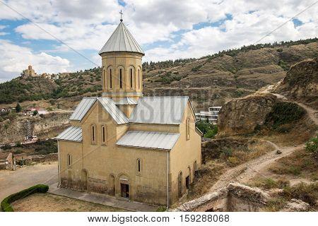 Saint Nicholas Church In Narikala Fortress, Tbilisi