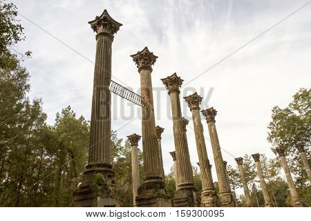 Architectural Details Of Windsor Ruins