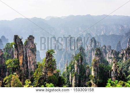 View Of Quartz Sandstone Pillars (avatar Mountains)