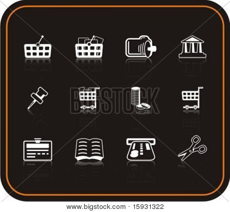 Exclusive Series of Business Icons. Check my portfolio for much more of this series as well as thousands of similar and other great vector items.