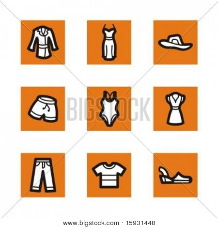 Exclusive Series of Clothing and Accessories Icons. Check my portfolio for much more of this series as well as thousands of similar and other great vector items.