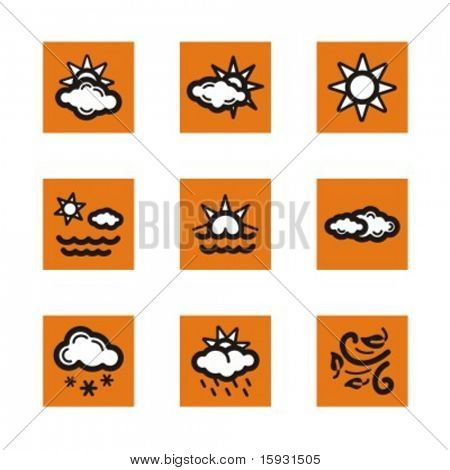 Exclusive Series of Weather Icons. Check my portfolio for much more of this series as well as thousands of similar and other great vector items.