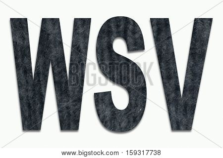 Winter Sale Angora Wool in a font trained