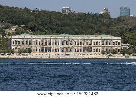Ciragan Palace In Istanbul City, Turkey
