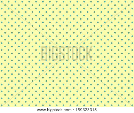 Dotted background light yellow and light blue