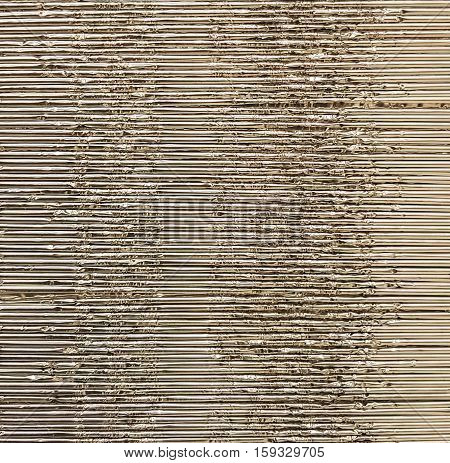 Metal corrugated sheet, texture background. Abstract and textured