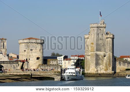 Port La Rochelle A Day Of Summer, France