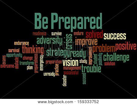 Be Prepared, Word Cloud Concept 4