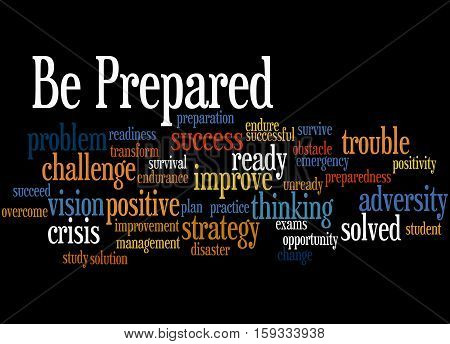 Be Prepared, Word Cloud Concept 7