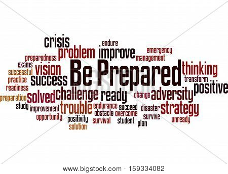 Be Prepared, Word Cloud Concept 8