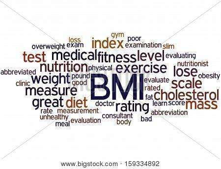 Bmi, Word Cloud Concept