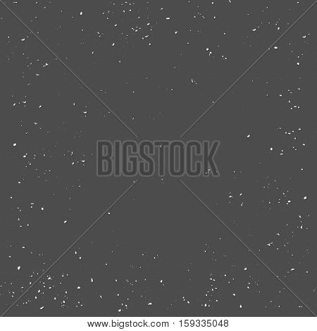 Grunge Black and White Distress Texture. Wall Background. Vector Illustration. Simply Place illustration over any Object to Create grungy Effect abstractsplattered dirtyposter for your design.