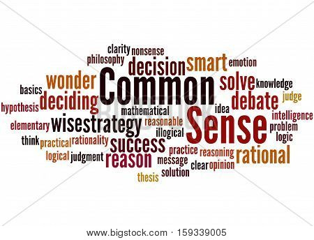 Common Sense, Word Cloud Concept 2